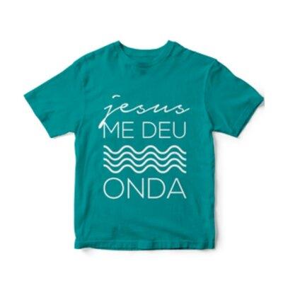 Camiseta - Jesus me deu onda (Adulto)