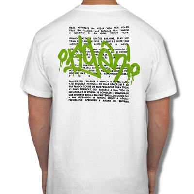 Camiseta Branca Grafitte O2XGN