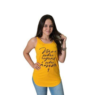 Regata Feminina LONG - Yellow