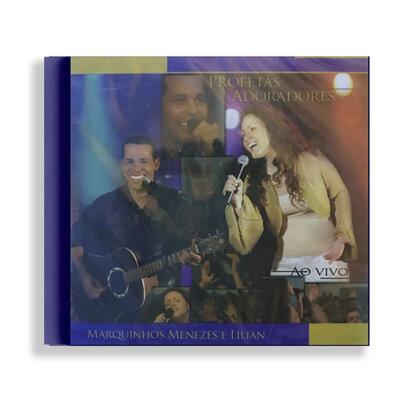 CD - Profetas Adoradores - Marquinhos Menezes e Lilian