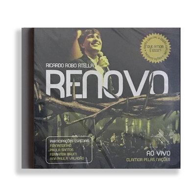 CD - Renovo - Ricardo Robortella