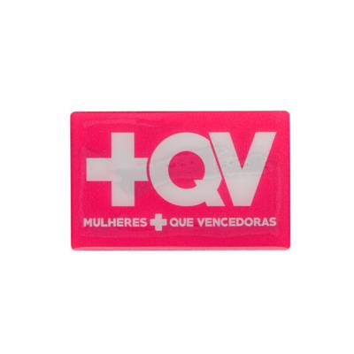 Adesivo +QV - Quadrado