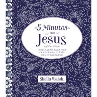 Livro 5 minutos com Jesus - Sheila Walsh