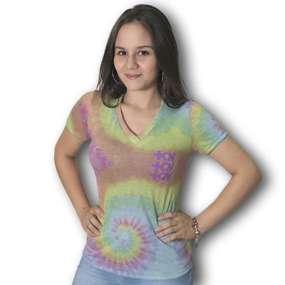 Blusa Tie Dye logo MQV