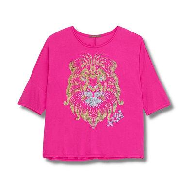 Blusa Pink - Leão Dourado Inabalável
