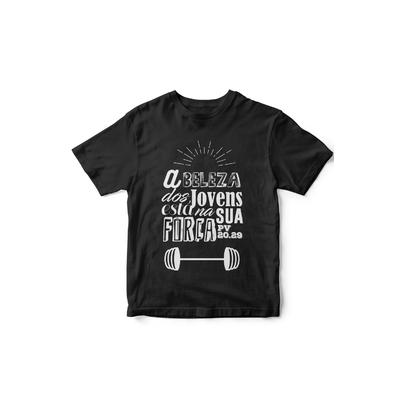 Camiseta A Beleza dos Jovens Preta
