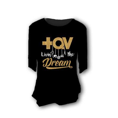 Blusa +QV Dreams Preta
