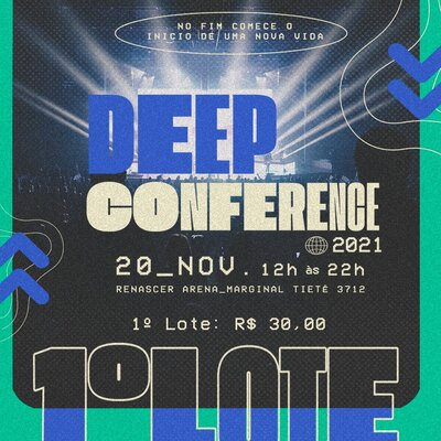 Deep Conference 2021 (1 Lote)