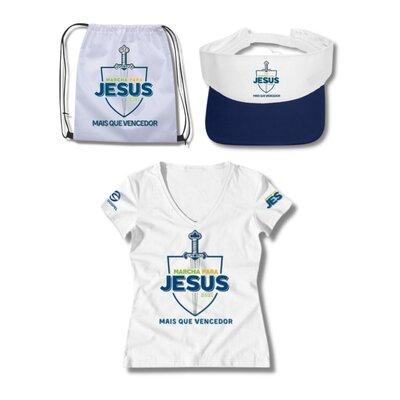 Conjunto Marcha para Jesus (Feminino)