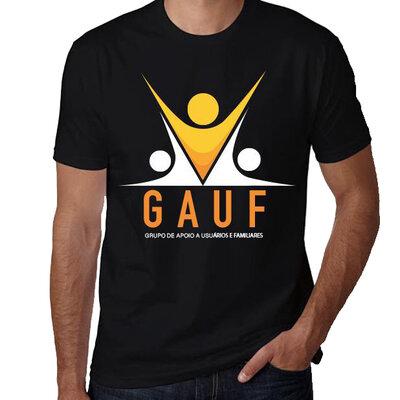 Encomenda Camiseta GAUF Preta