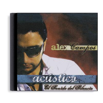 CD Alex Campos - El Sonido Del Silencio Acústico