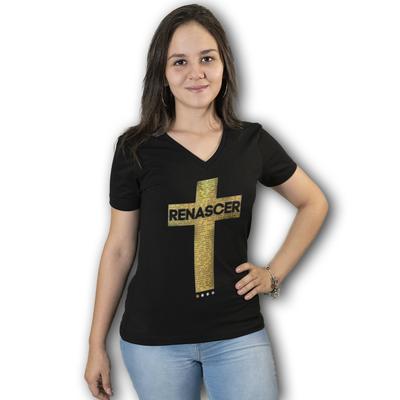 Baby Look (Long) Cruz - Ano Apostólico de Paulo