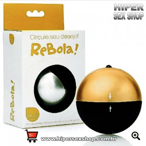 Massageador Soft Touch Metalizado - ReBola!