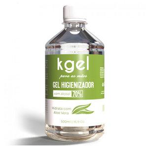 Álcool em Gel 70% Higienizador com Aloe Vera 500 ml
