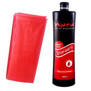 Gel para Massagem Nuru Plus Standard 1000ml