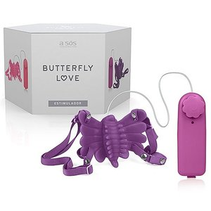 Borboleta Estimuladora Mágica Butterfly Love
