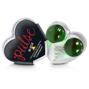 Bolinha Funcional Pulse Black Anal Dessensibilizante com 2 Unidades