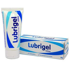 LubriGel Íntimo - Lubrificante Neutro Hipoalergênico 60g