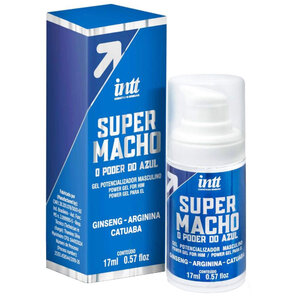 Gel Excitante Masculino Super Macho 17ml