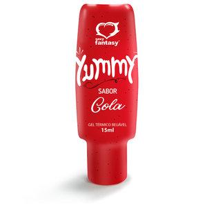 Gel Excitante Térmico e Beijável Yummy Sabor Cola 15ml