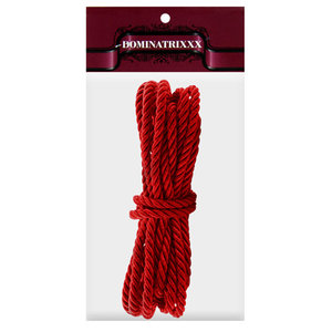 Corda Shibari Dominatrix para Sado Vermelho - 5 m