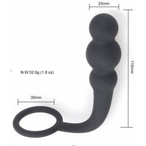 Estimulador Próstata Masculino e Anel Peniano