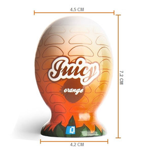 Mini Masturbador Juicy Orange em Cyberskin