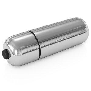 Power Bullet Prateado 6 cm x 1,8 cm