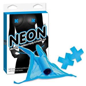Calcinha Neon com Cápsula Vibratória