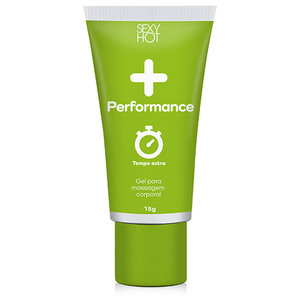 Gel Masculino + Performance Tempo Extra 15g