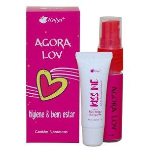 Kit Agora Lov - 3 Produtos