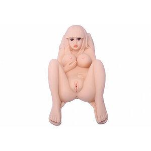 Masturbador Masculino Cyberskin com Efeitos Sonoros