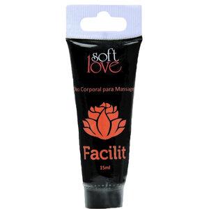 Óleo Soft Love para Massage Corporal Facilit - 15 mL