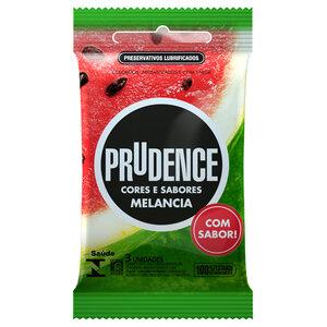 Preservativo Prudence Cores e Sabores Melancia