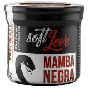Bolinha Excitante Mamba Negra com Efeitos Mais Aguçados - 3 Unidades