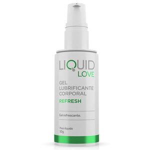 Gel Lubrificante Refrescante para Sexo Anal Liquid Love Refresh 50g