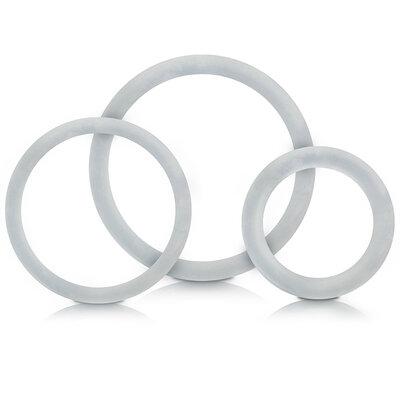 Conjunto de 3 Anéis Retardadores Liso