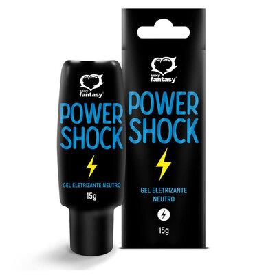 Gel Eletrizante Power Shock 15g