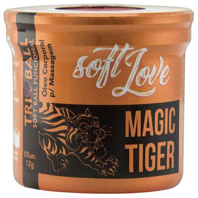 Bolinha Ainda Mais Quente e Aguçada Magic Tiger 6 Funções em 1 - 3 Unidades