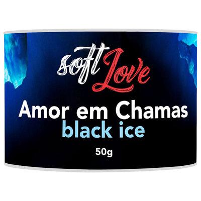 Vela Aromática e Beijável Amor em Chamas Soft Love 50g
