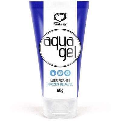 Lubrificante Aqua Gel Frozen Beijável 60 g