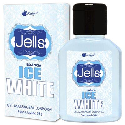 Gel Beijável para Sexo Oral Jells com Aroma de Essência Ice White 30 ml