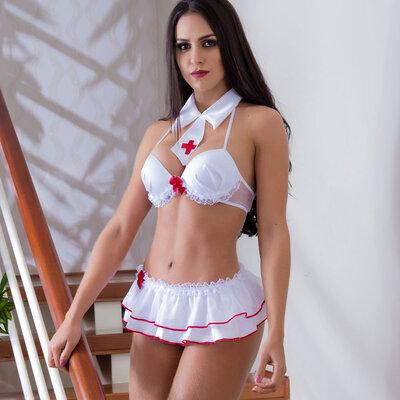Fantasia Enfermeira Safadinha
