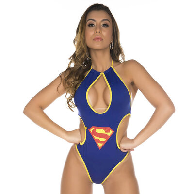Mini Fantasia Pimenta Sexy Supergirl