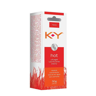 Gel Lubrificante Íntimo KY Hot 50 g