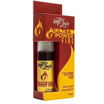 Óleo para Massagem Ultra Power Fire 15 ml