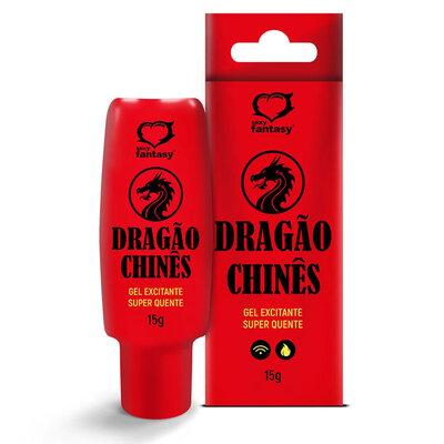 Gel Excitante Super Quente Dragão Chinês 15g