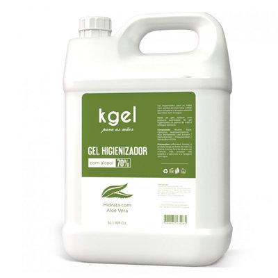 Álcool em Gel 70% Higienizador com Aloe Vera 5 litros