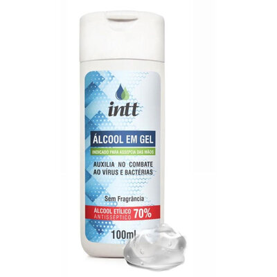 Álcool em Gel Etílico Intt 100 ml