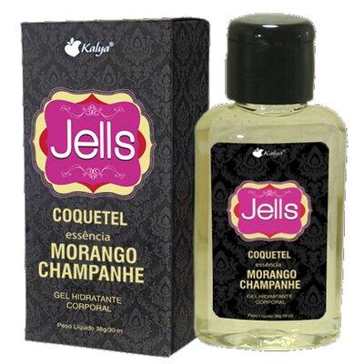 Gel Beijável para Sexo Oral JELLS Aroma Coquetel Morango com Champanhe 38g/30ml